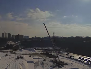 Week 9 of construction and going strong!