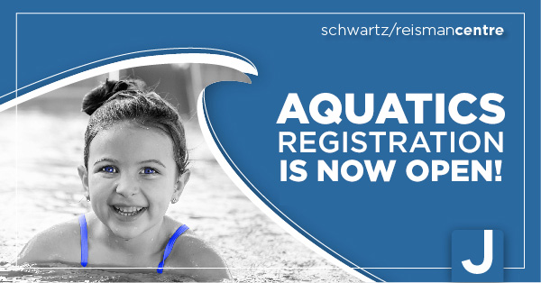 Aquatics Registration is now open