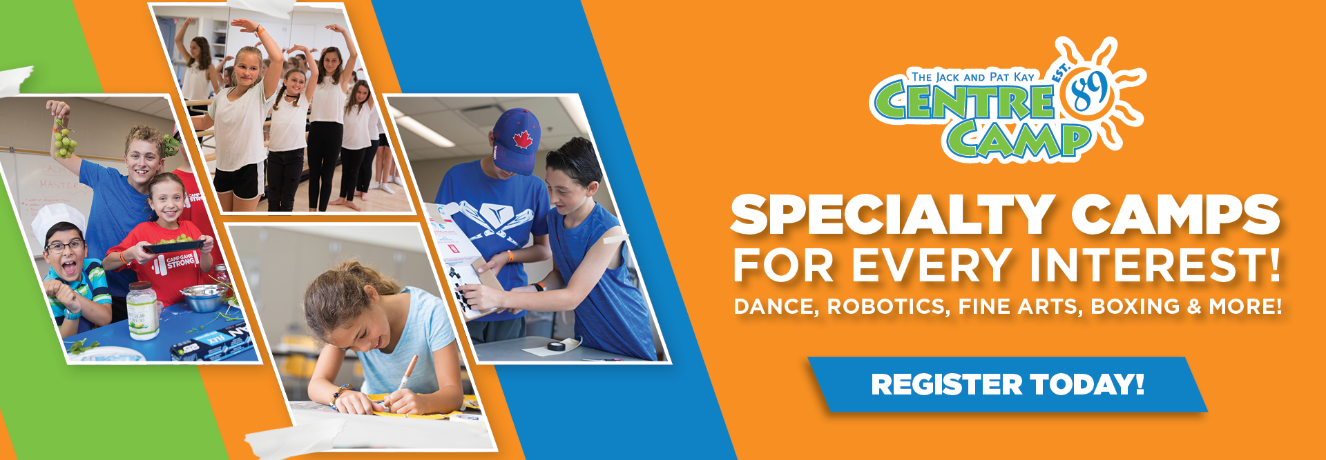 Specialty Camps for every interest!