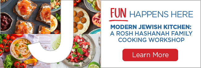 Modern Jewish Kitchen: Rosh Hashanah Family Cooking Workshop