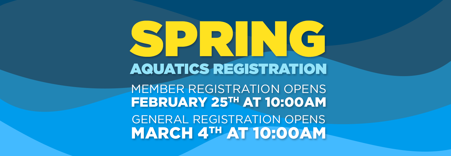 Spring 2018 Aquatics Registration